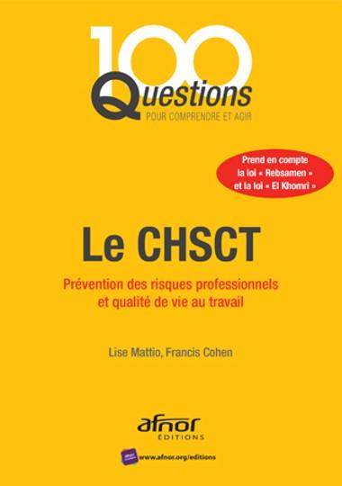 Livre : 100 questions CHSCT